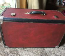 suitcase makeover paint and time and priceless decor for the house