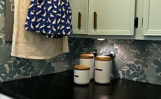 diy laundry shelf