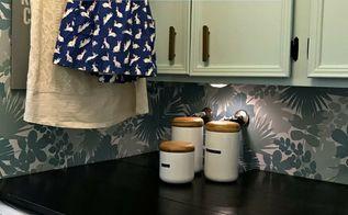 diy laundry shelf