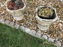 q i have 2 concret outside planters what is the best spray paint to use