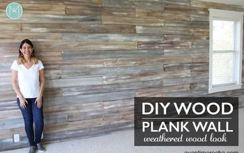 DIY Wood Plank Wall With Chalk Paint®