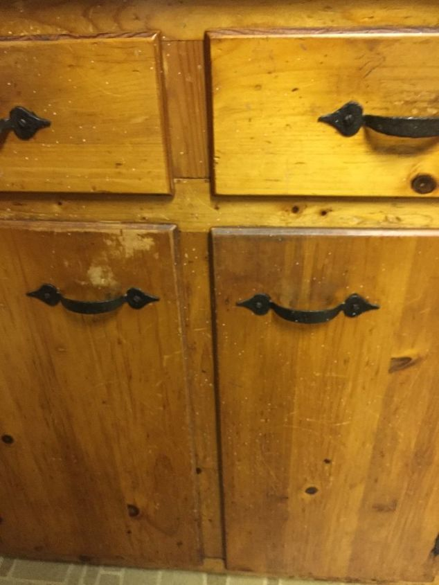 q how do i clean 60 year old cabinets