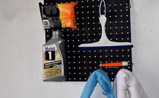 diy auto care pegboard