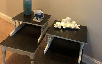 Facelift for Vintage End Tables.