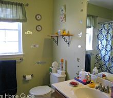 q how to update a kids bathroom on a budget