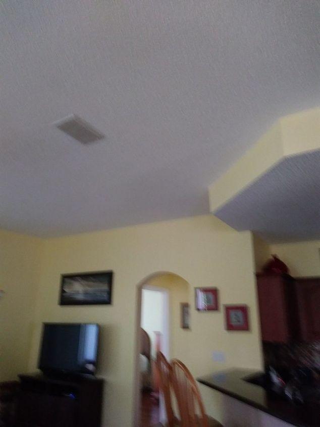 q popcorn ceilings ugh