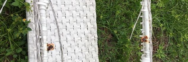 q how to restore faux vinyl wicker
