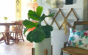 Make a West Elm Plant Stand for FREE