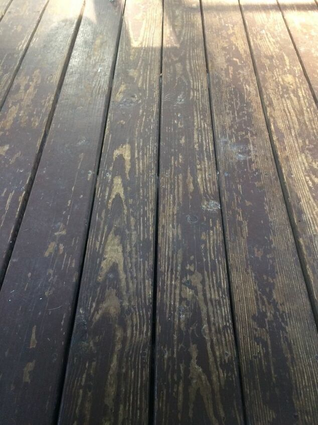 q what can i use to strip deck