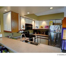 It Would Be Too Much To Invest. The Photo Below Is From The Sale Listing  Prior To Buying The Home. The Cabinets Are Still The Same.
