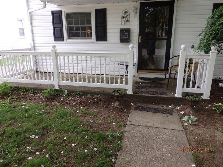 q empty porch