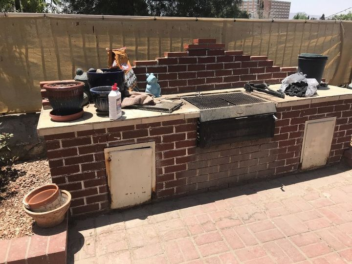 q how do i update my outdoor grilling area