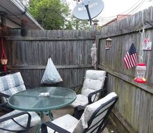 q can you give me some inexpensive ideas for a small patio lighting