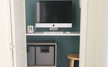 Turn Closet Into Mini Office