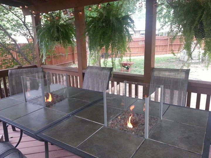 light your table on fire seriously