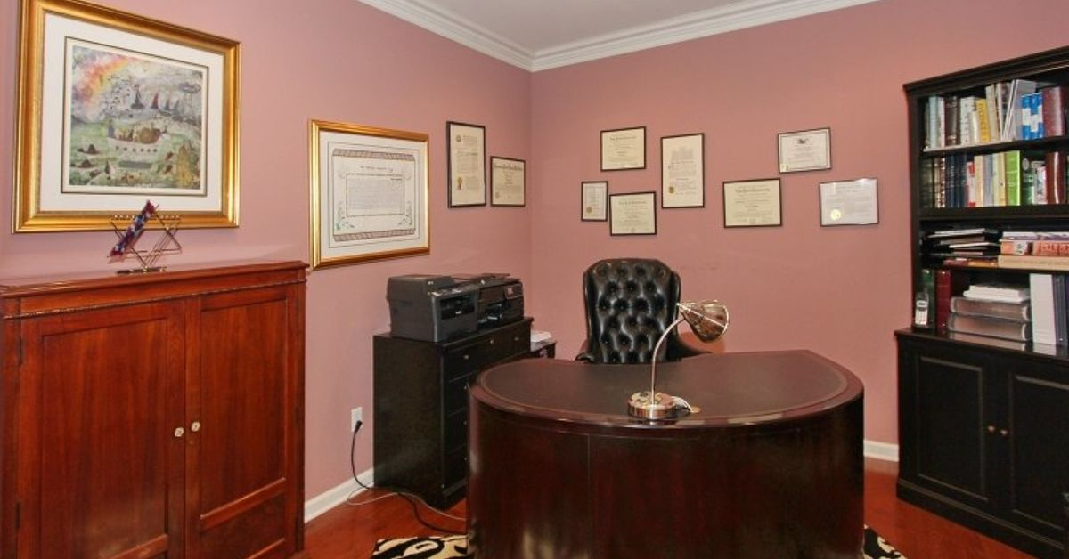 home office decor brown. Home Office Decor Ideas: Transforming A Study With Feminine Style   Hometalk Home Office Decor Brown W