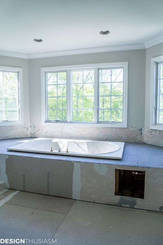 home remodeling new master bathroom ideas and progress