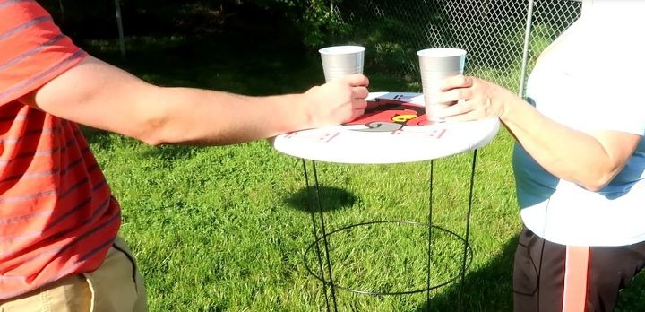 tomato cages to cocktail tables