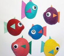 shell fish summer kids craft