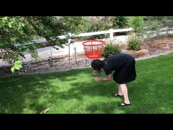 easy frisbee golf for your backyard