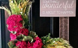 uplifting frame wreath