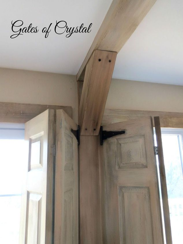 s 17 impossibly creative ceiling ideas that will transform any room, Add faux support beams by building wood boxes
