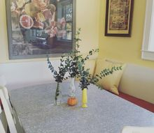 building and styling our corner kitchen breakfast nook