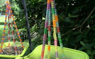 s 13 bird feeders from upcycled items