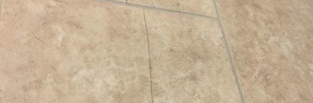 q how to fix a crack tile
