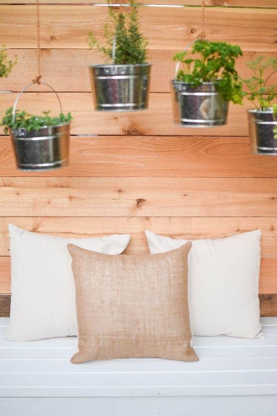 diy farmhouse style outdoor pillow covers drop cloth burlap
