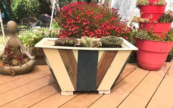 diy multi color planter