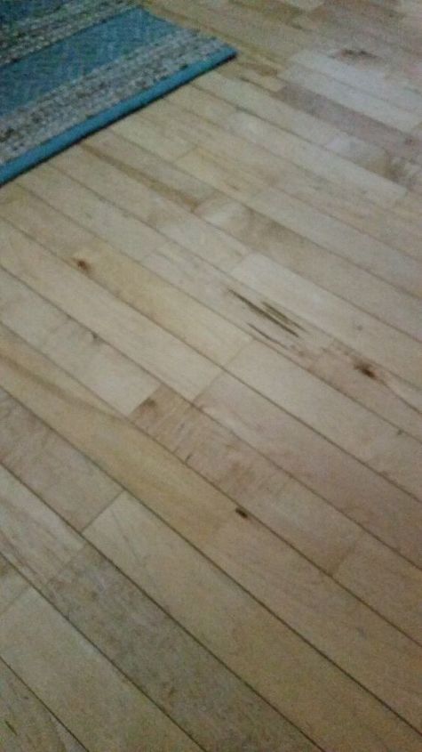 q what is the best way to paint hardwood floors