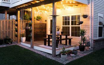 My Finished Tiny Backyard Space