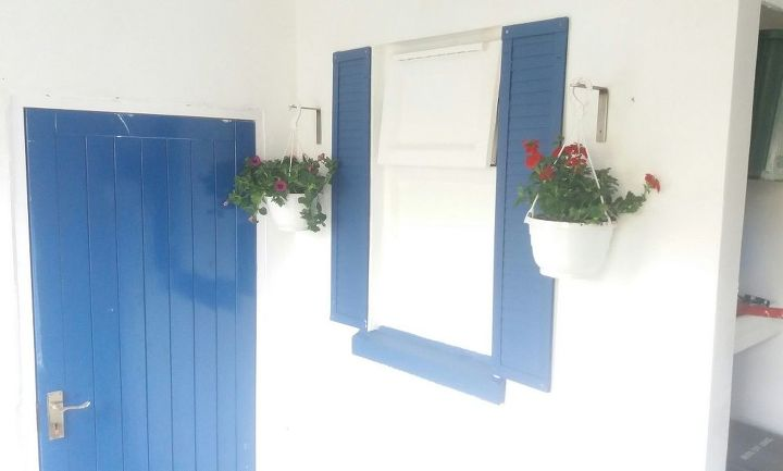 decorative window shutters