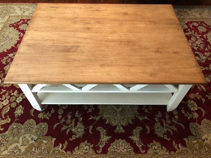 DIY Farmhouse Coffee Table Hometalk - Pottery barn style coffee table