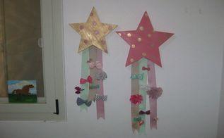 girls room decor bow holder