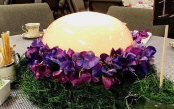 led color changing flower centerpiece