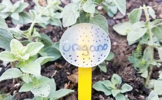 easy colorful plant markers