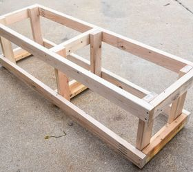 Diy Outdoor Storage Bench With Hidden Storage Containers