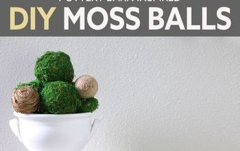 Pottery Barn Knock Off DIY Moss Ball - Dollar Tree