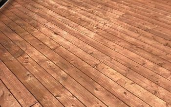 Staining and Sealing a Deck