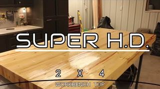 I could use a good idea how to make a table out of some redwood 2x4