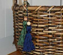 diy the easiest embroidery floss tassels