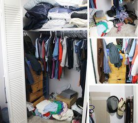 Make Your Own Closet Shelves Organizer