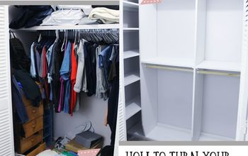 Make Your Own Closet Shelves & Organizer!