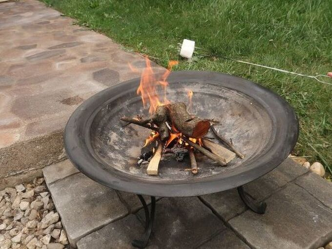 fire pit upgrade for under 25
