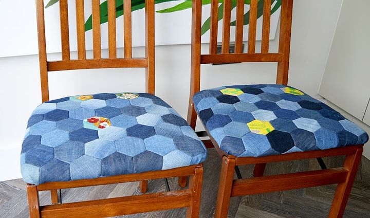 s these stunning seating ideas will blow you away, Jean Patchwork Seat Pads