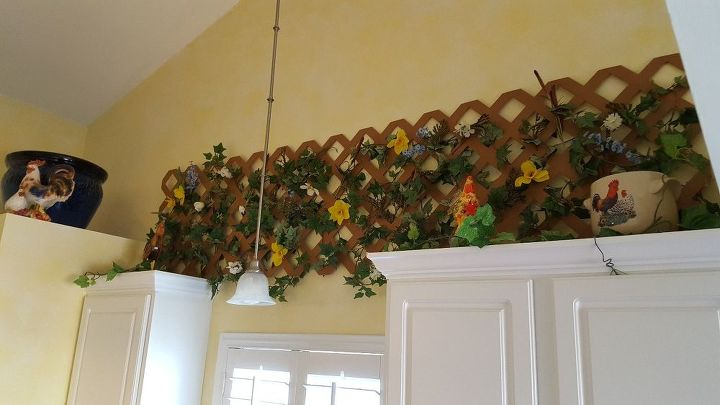 s copy one of these lovely lattice ideas for your home, Kitchen Country Decor
