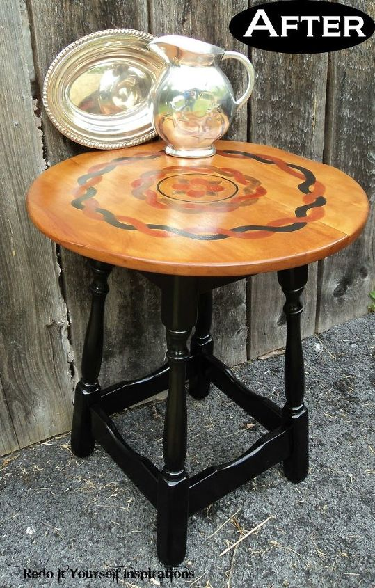 s 15 perfectly round tables, Perfectly Stained and Accented