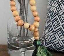 diy wood bead ombre tassels